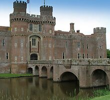 Herstmonceux Castle-England © by Dawn M. Becker