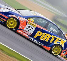 BTCC Andrew Jordan  by Mark Greenwood