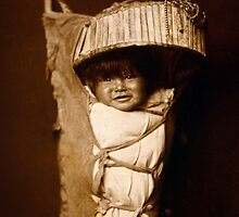 Native American Apache Baby 1903 by VintagePhotos