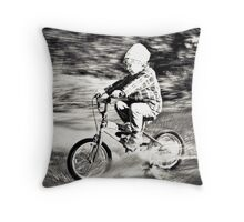 ...speed... Throw Pillow