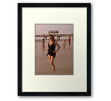Florida Sun Framed Print