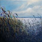 Sea Oats by Nancy  Asbell