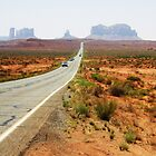 Route 163 to Monument Valley by aleininger