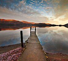 Winter at Derwent water by Shaun Whiteman