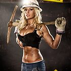 Caution: Models At Work - The Coal Miner by Jeff Zoet