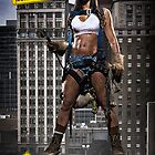 Caution: Models At Work - The Iron Worker by Jeff Zoet