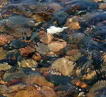 rocks in lake superior water by wolf6249107