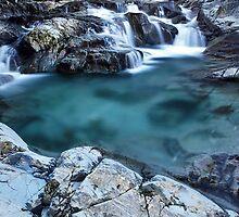 Blue Water Pool by Andy Freer