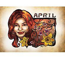 Brenda of April Photographic Print