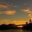 Northwestern Ontario.. Only the Best Sunsets for Us! by Samantha Zroback