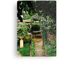Garden Rooms Metal Print