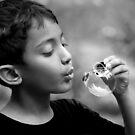 Blowing Bubble by Mukesh Srivastava