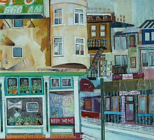 The Bohemian Cigar Store by Sally Sargent