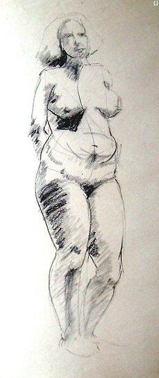Figure Study by Cameron Hampton