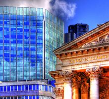 Old and New - Mansion House London - HDR by Colin  Williams Photography