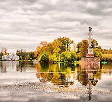 Russian autumn. Pushkinskiy Park by Stratoboy