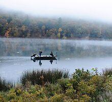 Mirror Fishing by Scott  Hafer