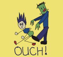 Frankenstein's Monster Kicks Butt T-Shirt