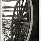 The Old Wheel by Jeri Garner