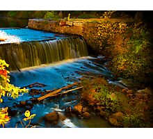 Walpole Town Forest III - Little water fall Photographic Print
