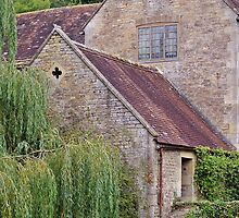Side of Gants Mill. by Kristina K