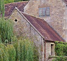 Side of Gants Mill. by Kristina K