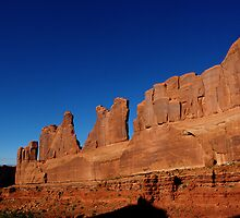 Park Avenue ~ Arches National Park, Utah USA by Vicki Pelham