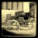 Wagon in sepia w/soft focus by Mr. Sherman