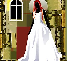 The wedding woman	 by tillydesign