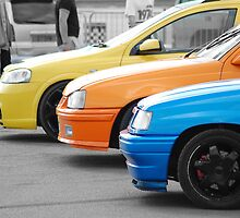 Vivid Vauxhalls by Rees Adams
