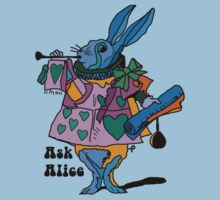 Alice in Wonderland - The White rabbit one - Ask Alice by bleedart
