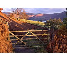 Near Ullswater - The Lake District Photographic Print