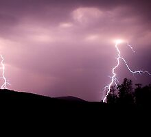 Lightening Strikes  by mateo
