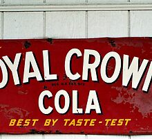 Royal Crown Cola by Terrie Taylor