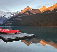 Lake Louise Jetty by Kasia Nowak