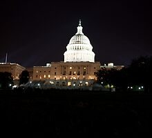 U S Capital Building by Carol Bock
