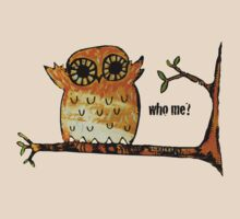Who Me? Owl by Karin  Taylor