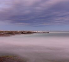 Looking north to Nobbys by Matthew Reilly