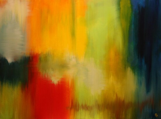 Density. 40 x 30. Acrylic Painting. by csoccio100