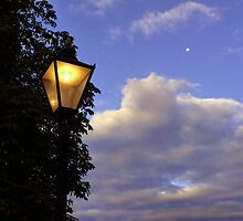 Lamp in the Clouds by Charmiene Maxwell-batten