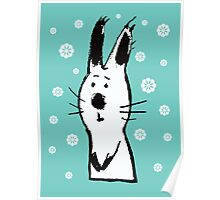 Snow Rabbit Poster