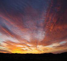 Sunrise at Karaak Flat by Liz Worth