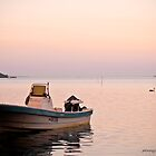 Evening Boat by pennyswork