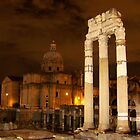 Rome in Night by Sunil Bhardwaj