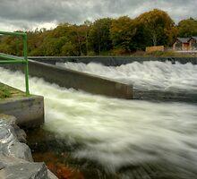 Below The Weir by Jamie  Green