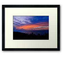Cloudshow #1 Framed Print