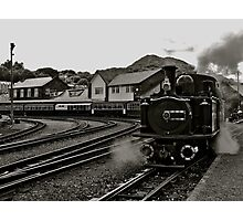 Welsh Steam Train Photographic Print