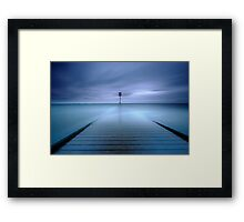 Beacon Blue Framed Print