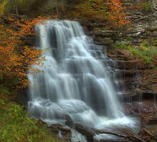 Erie Falls (in Autumn) by Aaron Campbell