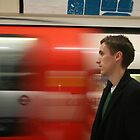London Tube - Self Portrait by craigs79